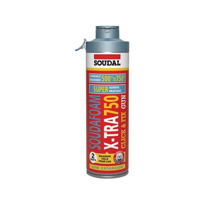 Soudafoam X-tra750 - Click & Fix - 500 ml